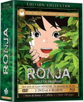Ronja, fille de brigand édition collector (blu-ray)