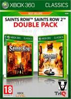 Pack Saints Row 1 + 2 (xbox 360)