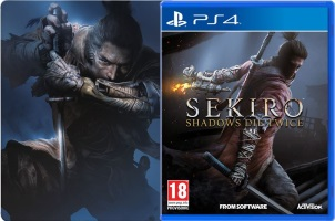 Sekiro : Shadows Die Twice (PS4) + steelbook
