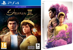 Shenmue III (PS4) + steelbook offert
