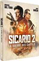 Sicario 2 : La guerre des cartels édition steelbook (blu-ray)