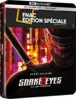 Snake Eyes : GI Joe Origins édition steelbook (blu-ray 4K)