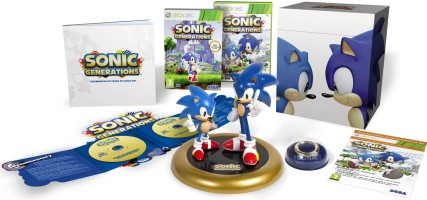 Sonic Generations édition collector 20 ans (xbox 360)