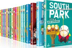 South Park saisons 1 à 16 (DVD)