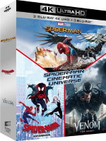 Spider-Man Cinematic Universe (blu-ray 4K)