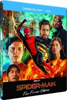 Spider-Man: Far from Home édition steelbook (blu-ray)