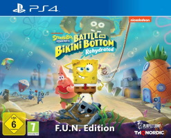 Spongebob Squarepants: Battle For Bikini Bottom - Rehydrated édition F.U.N. (PS4)