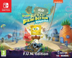 Spongebob Squarepants: Battle For Bikini Bottom - Rehydrated édition F.U.N. (Switch)