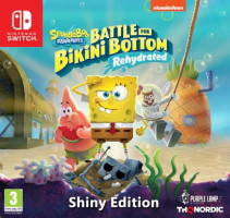 Spongebob Squarepants: Battle For Bikini Bottom - Rehydrated édition Shiny (Switch)
