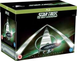 """Intégrale """"Star Trek : La nouvelle génération"""" (blu-ray)"""
