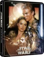 Star Wars II : L'attaque des clones édition steelbook (blu-ray 4K)