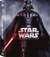 Star Wars : épisodes I à VI (blu-ray)