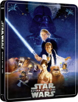 Star Wars VI : Le retour du Jedi édition steelbook (blu-ray 4K)