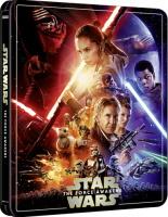 Star Wars VII : Le réveil de la force édition steelbook (blu-ray 4K)