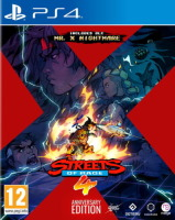 Streets of Rage 4 Anniversary Edition (PS4)