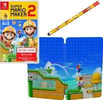 Super Mario Maker 2 édition limitée (Switch) + steelbook + stylet
