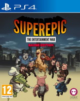SuperEpic: The Entertainment War Badge Edition (PS4)
