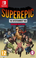 SuperEpic: The Entertainment War Badge Edition (Switch)