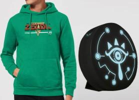 T-shirt ou sweat shirt Zelda + lampe Sheikah