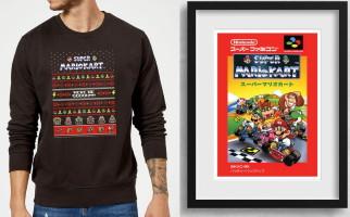 Sweat-shirt de noël Nintendo + poster offert
