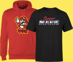 Hoodie + t-shirt Mario