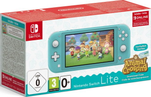 """Switch Lite turquoise pack """"Animal Crossing: New Horizons"""""""