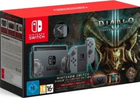 "Nintendo Switch édition limitée ""Diablo III"""
