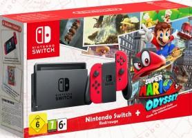 "Console Nintendo Switch pack ""Super Mario Odyssey"""