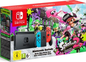 "Console Nintendo Switch pack ""Splatoon 2"""