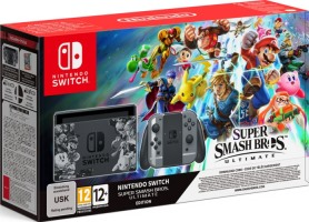 "Nintendo Switch édition limitée ""Super Smash Bros. Ultimate"""