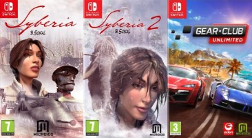 Syberia +Syberia 2 + Gear.Club Unlimited (Switch)
