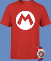 T-shirt + montre Mario