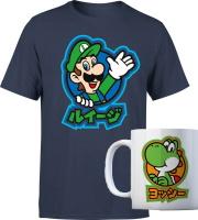 T-shirt + mug Nintendo
