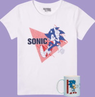 Mug + t-shirt Sonic