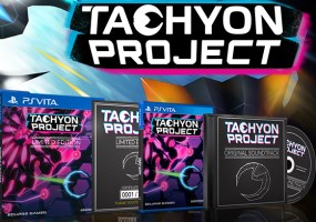 Tachyon Project (PS4, PS Vita) un jeu exclusivement distribué par Play-Asia
