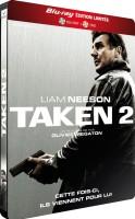 Taken 2 édition limitée steelbook (blu-ray + DVD)