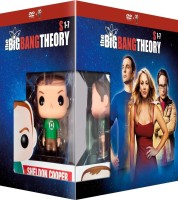 The Big Bang Theory Saisons 1 à 7 édition limitée avec figurine Funko Pop (blu-ray)