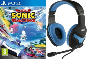 Casque filaire + Team Sonic Racing (Switch)