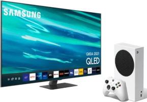 """Téléviseur QLED 4K 65"""" (163 cm) + Xbox Series S"""