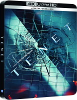 Tenet édition steelbook (blu-ray 4K)