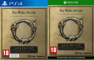 The Elder Scrolls Online édition Gold (PS4, Xbox One)