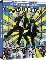 The Blues Brothers édition limitée steelbook 40e anniversaire (blu-ray 4K)