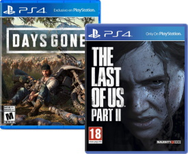 The Last of Us Part II + Days Gone (PS4)