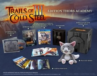 "The Legend of Heroes Trails of Cold Steel III édition collector ""Thors Academy"" (PS4)"