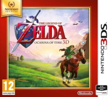 The Legend of Zelda: Ocarina of Time 3D édition Nintendo Selects (3DS)