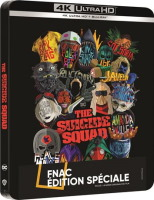 The Suicide Squad édition steelbook (blu-ray 4K)