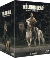 The Walking Dead : intégrale des saisons 1 à 9 (blu-ray)
