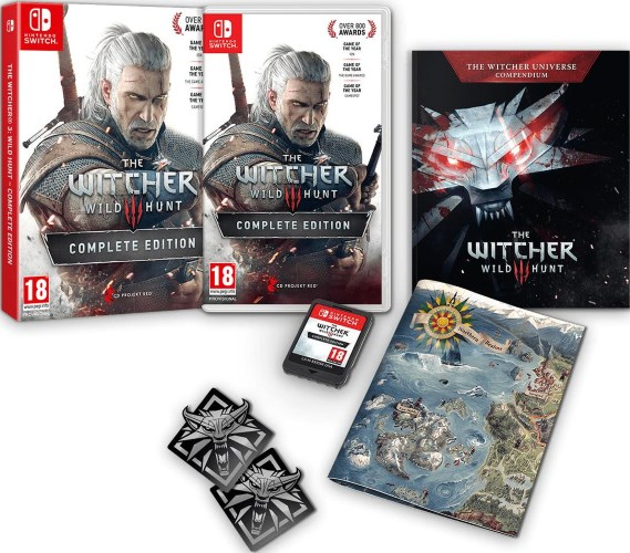 [2019] The Witcher 3 : Wild Hunt Complete Edition (Switch) OwPsT