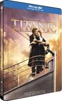 Titanic édition limitée steelbook (blu-ray 3D + blu-ray + DVD)