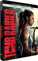 Tomb Raider édition steelbook (blu-ray 4k)